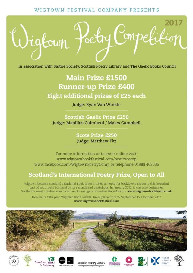 Wigtown Poetry Competition