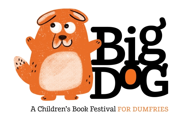 Poster for the first Big Dog, children's book festival.