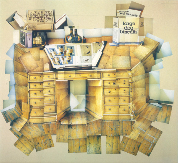 David Hockney's cubist desk