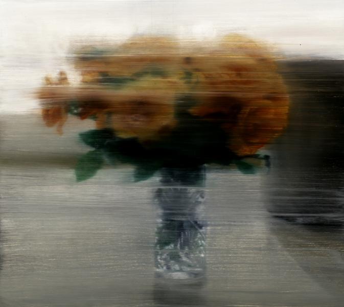 Rosen: Gerhard Richter (oil on canvas, 1994)