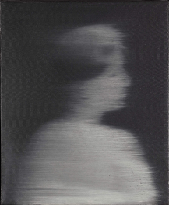 Woman's Head in Profile - Gerhard Richter