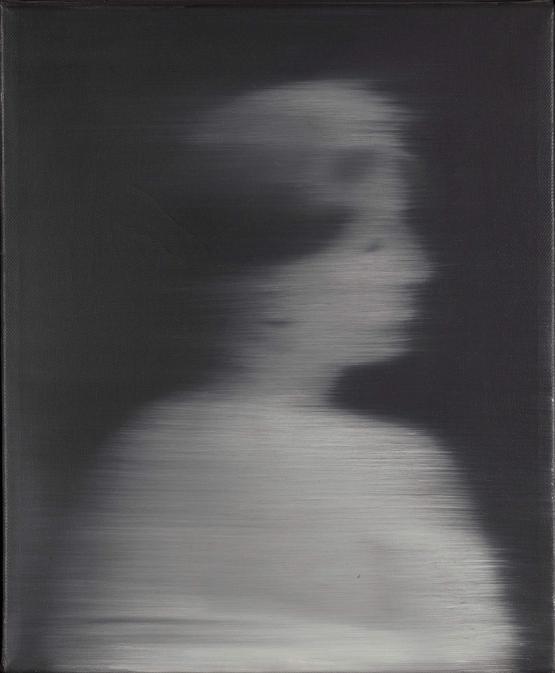 Woman's Head in Profile - Gerhard Richter