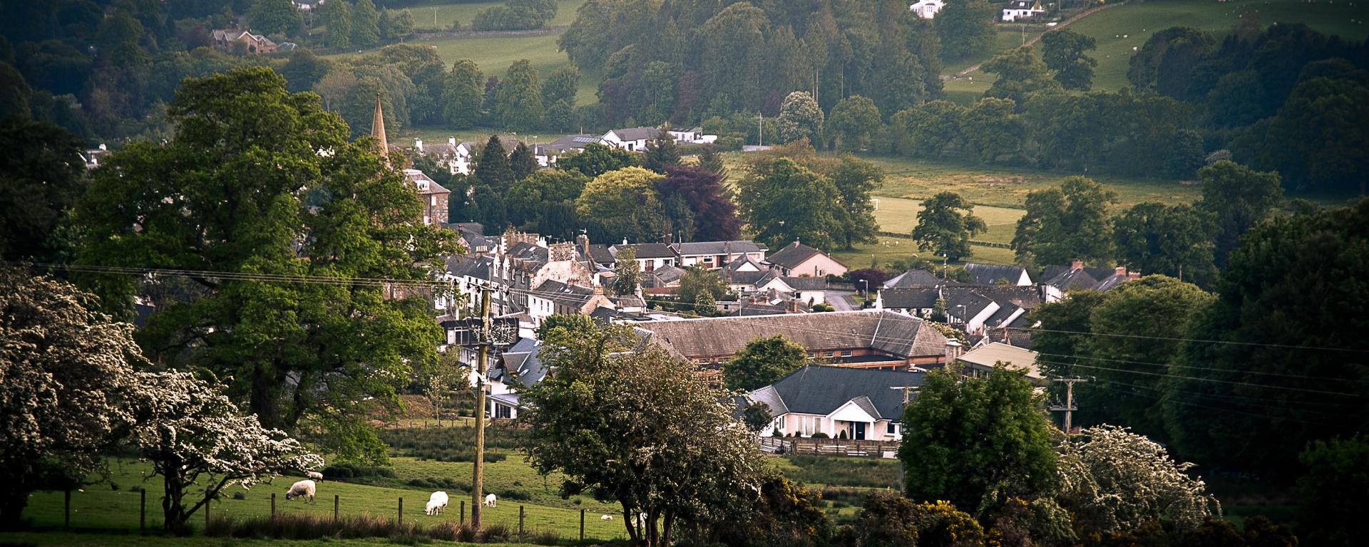 Moffat, Scotland, from Gallow Hill