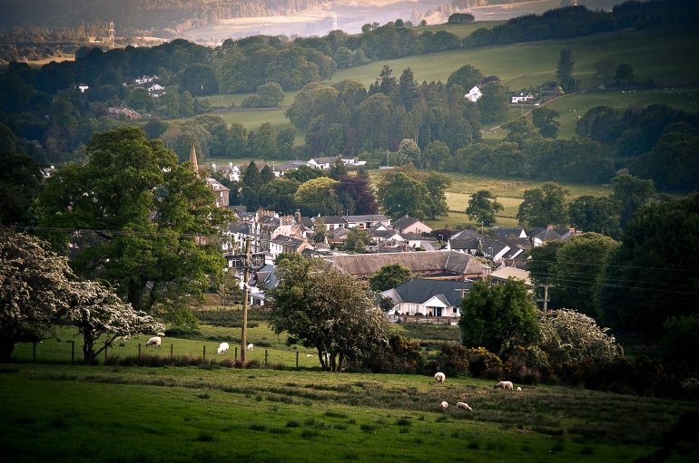 Moffat, Scotland, from Gallow Hill