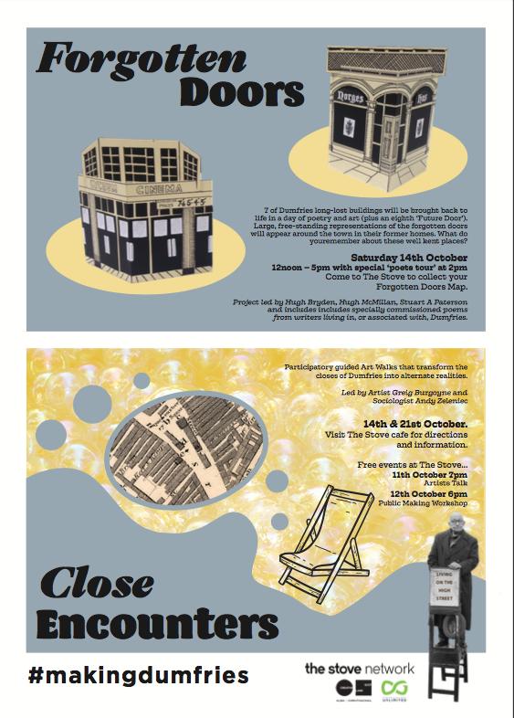 Forgotten Doors flyer