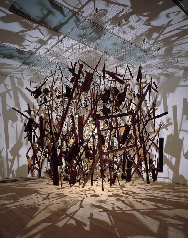 Cold Dark Matter: An Exploded View 1991 by Cornelia Parker born 1956