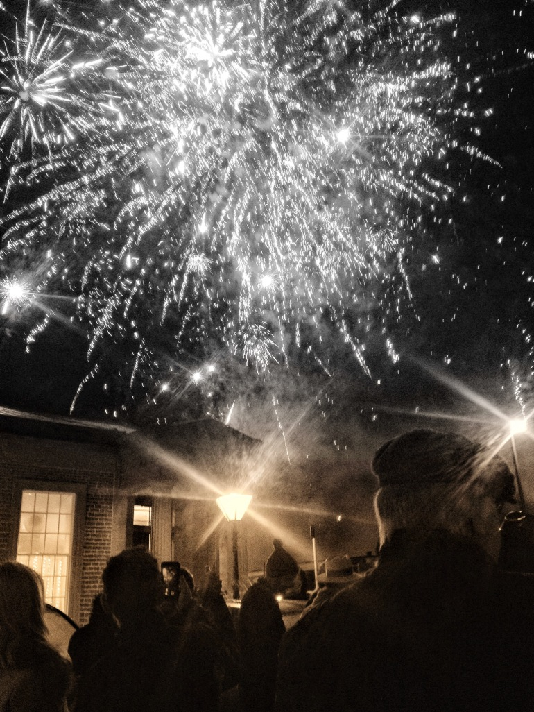 Moffat Hogmanay Fireworks