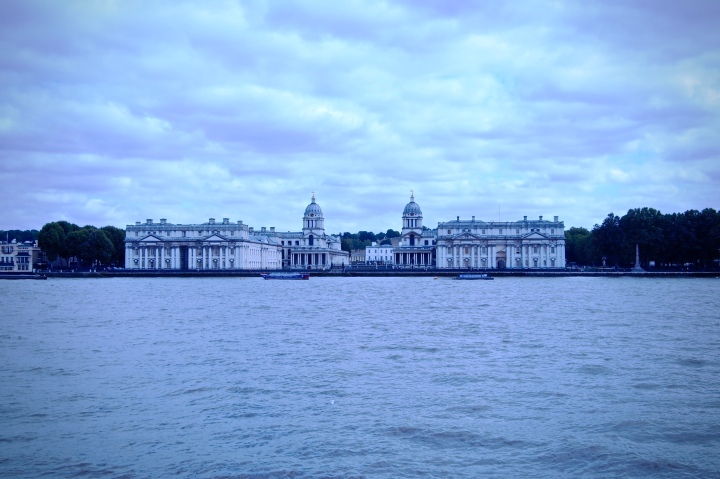 Greenwich from the Isle of Dogs