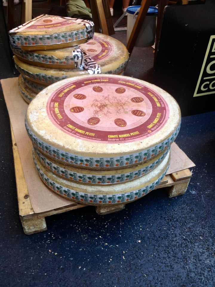 A Pallet of Cheese
