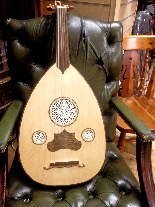 Oud on a Chair