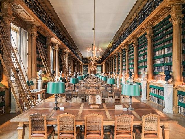 Bibliothèque Mazarine, Paris, France