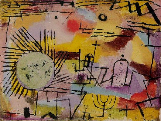 Paul Klee, Rising Sun.
