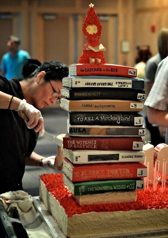 Princeton Library Cake