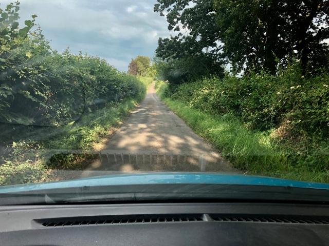 Pentre Lane, Goetre Fawr. Wales.